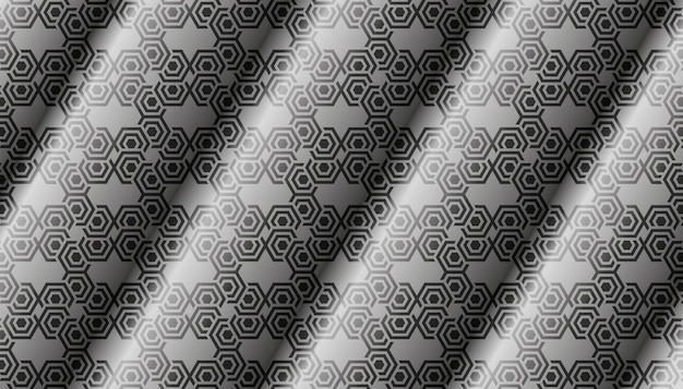 Satin pattern texture silver metal background