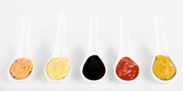 Sauces mixed
