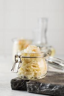 Квашеная капуста в стеклянных банках ферментация и консервирование овощей