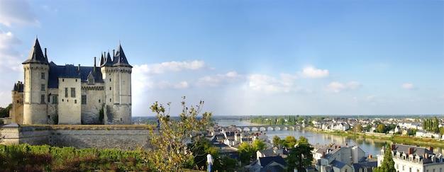 Saumur medieval castle.