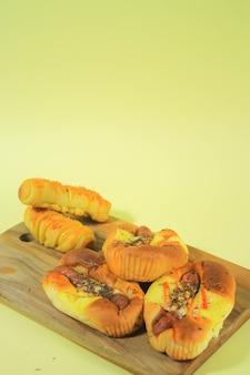 Вариант колбасного хлеба для лета