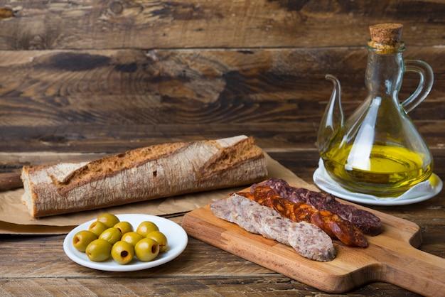 Sausage spanish food
