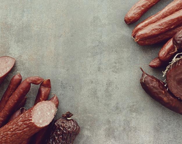 Типы колбас
