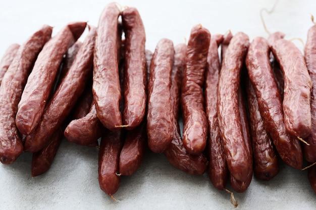 Sausages types