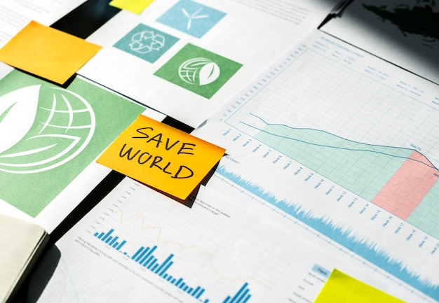 Save world environment ecology conference