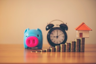 Saving money for real estate with buying a new home