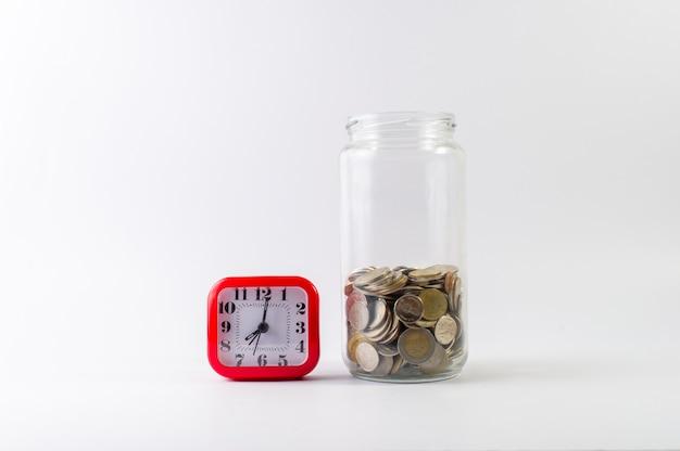 Saving money, saving money for the future ahead of life.