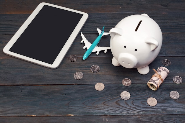 Saving planning for travel budget of
