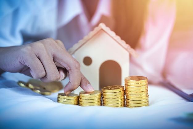 Сохранение, пенсионный план, концепция финансового планирования.
