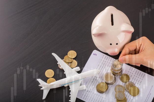 あなたの休暇の予算のために旅行のお金を節約します。