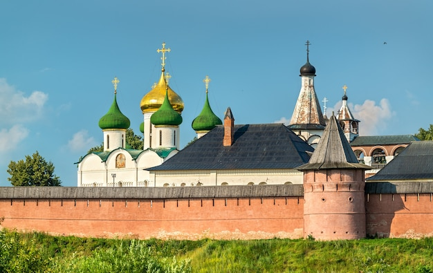 The saviour monastery of st. euthymius in suzdal, a unesco world heritage site in russia