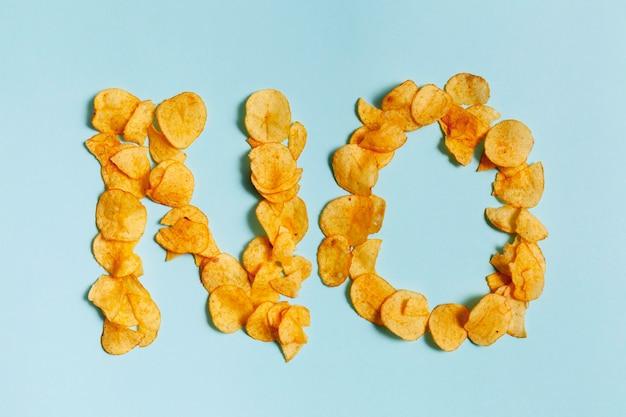 Say no to unhealthy snacl