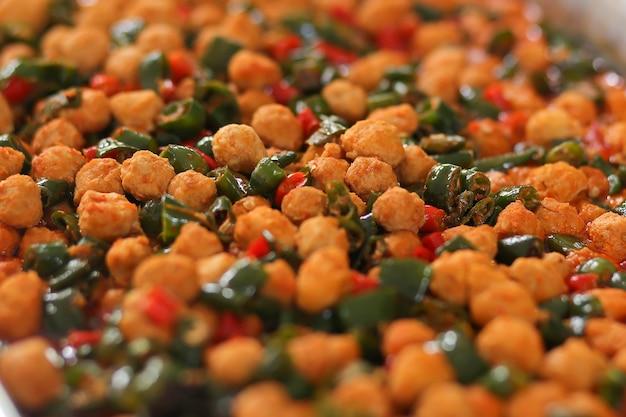 Sayur bola-bola tahu, stir fry tofu ball