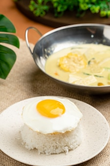 Sayur lodeh  is an indonesian vegetable soup prepared from vegetables in coconut milk
