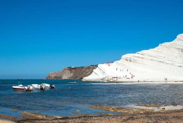 Scala dei turchi beach. agrigento-sicily
