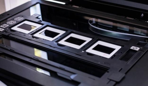 Сканирование слайдов для преобразования их в цифровые данные