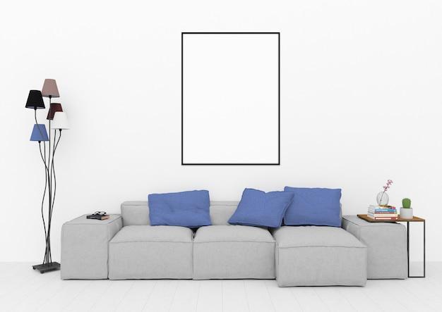 Scandinvian lounge room