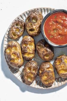 Страшно запеченный картофель с усохшими головками