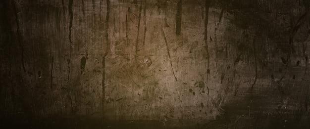 怖い壁の背景、背景のホラーコンクリートセメントテクスチャ