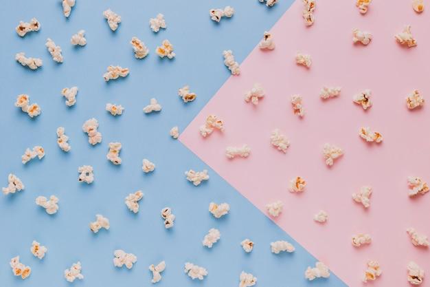 Scattered popcorns