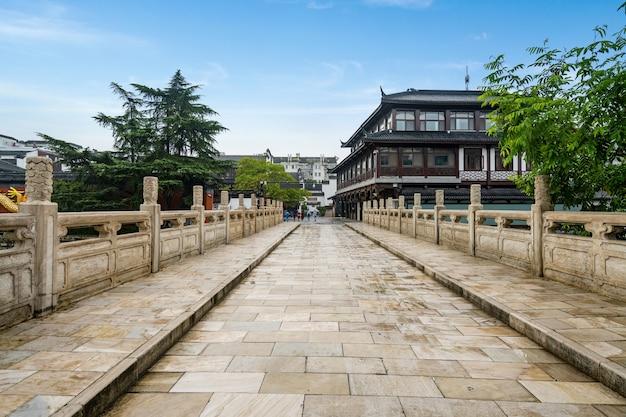 Scenery of confucius temple in nanjing jiangsu province china