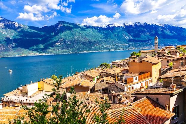 Scenery of northen itlay, limone, lago di garda