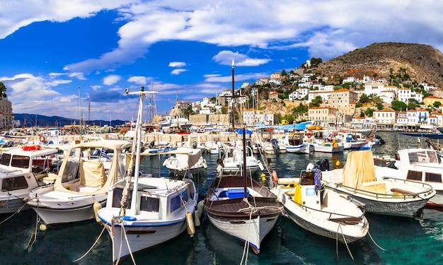 그리스 섬의 풍경