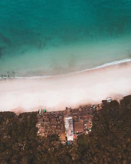 リオデジャネイロの凍った海の風景