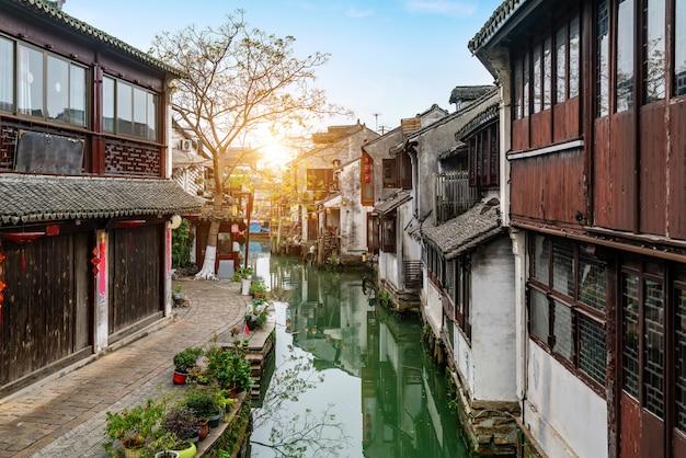 Scenery of zhouzhuang ancient town, suzhou, china