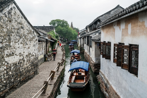 Scenery of zhouzhuang ancient town, suzhou, china