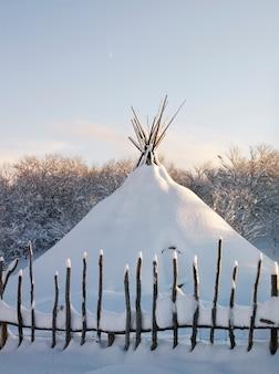 Живописная красота и веселье зимой