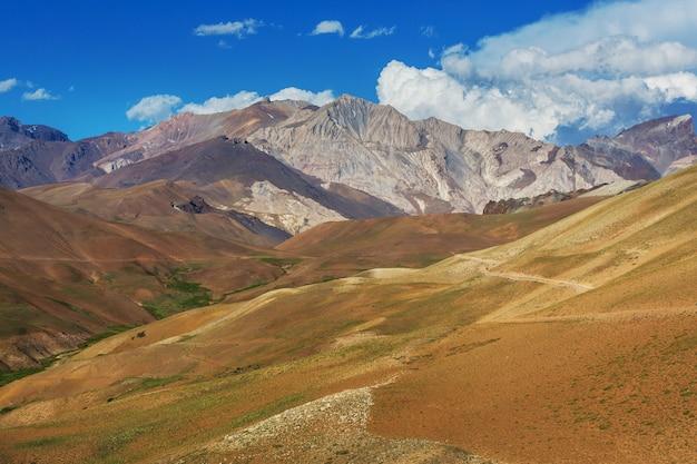 아르헨티나 북부의 아름다운 풍경. 아름다운 영감을주는 자연 경관.