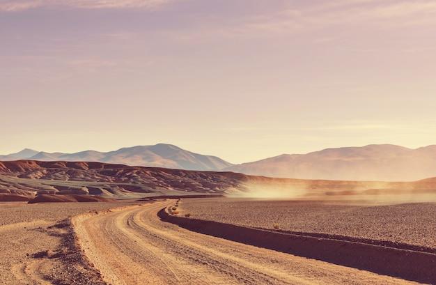 アルゼンチン北部の風光明媚な風景