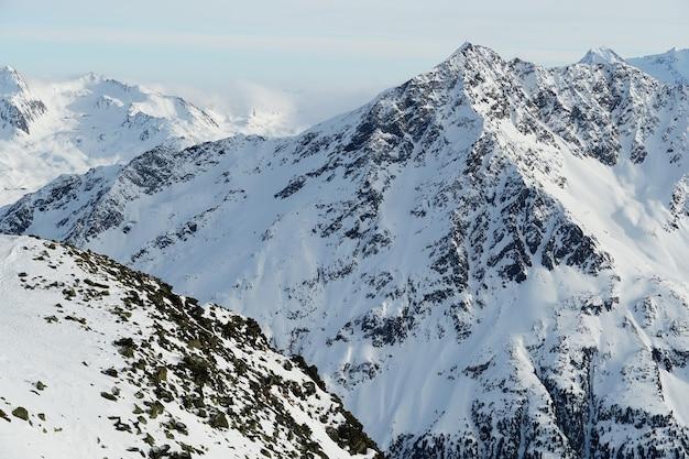 Живописные горы в австрийских альпах