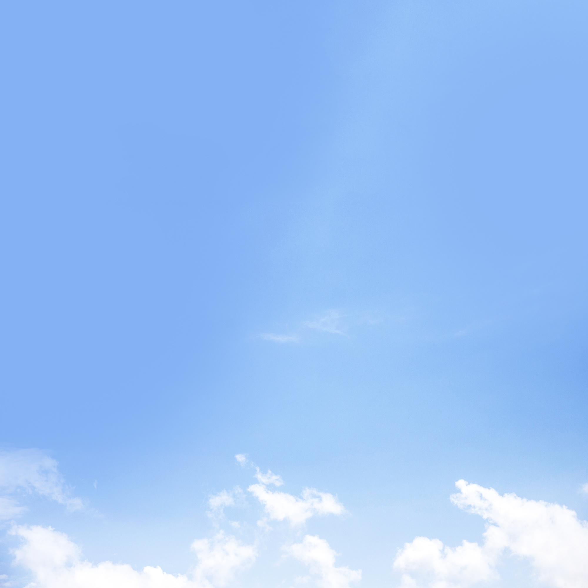 Scenics view of blue sky with white clouds