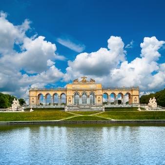 Schoenbrunn palace in vienna