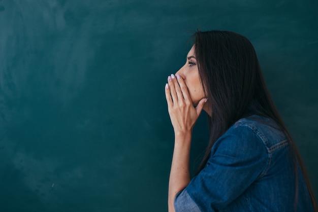 学校、外国語を勉強する英語のレッスン。