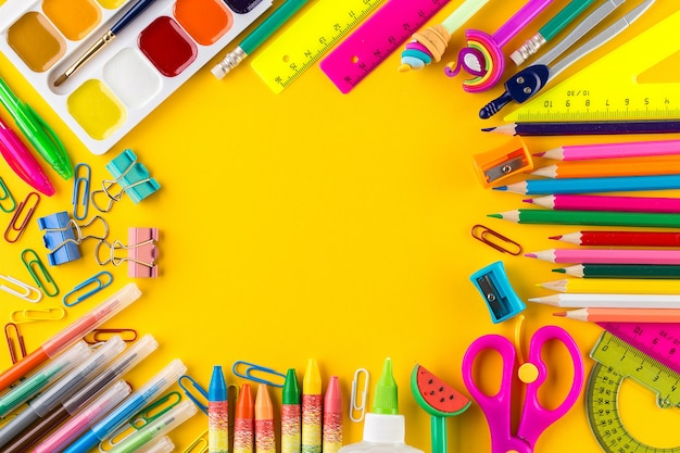 School pupil stationery