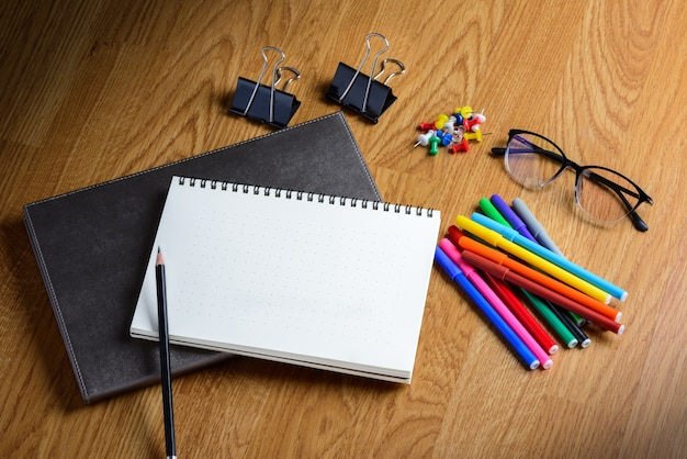 School stationary and office supplies