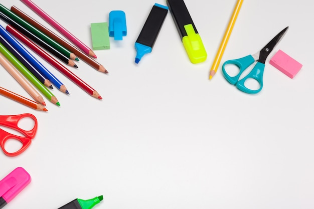 School stationery and supplies