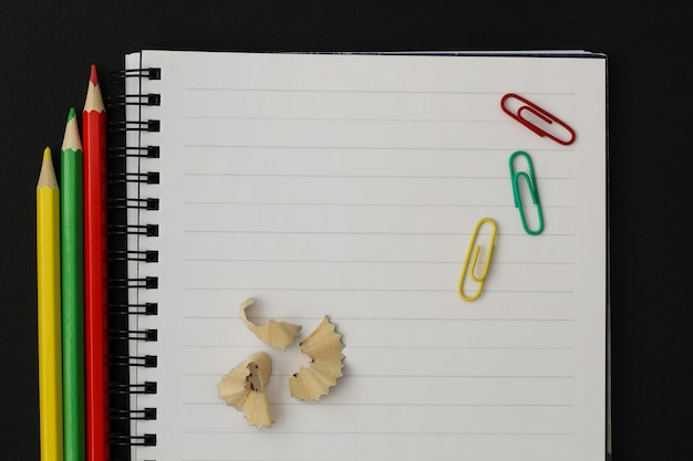 School supplies. back to school concept