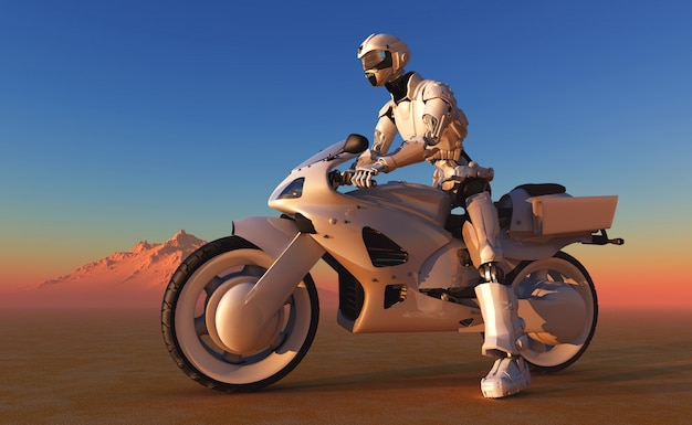 Science fiction human