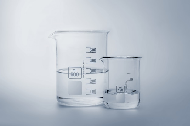 Science and medical glassware and test tube