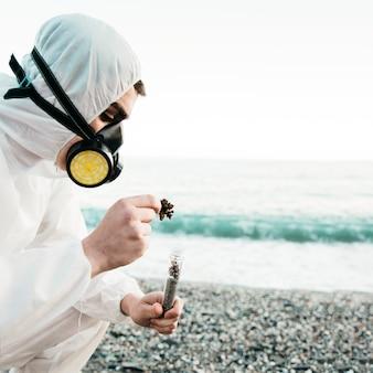 Научный анализ пляжа