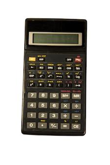 白い背景で隔離の関数電卓