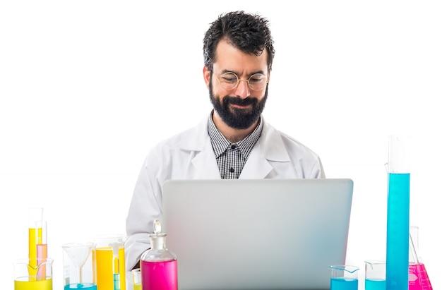 Scientist man