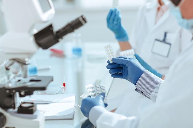 Ученые тестируют новый препарат