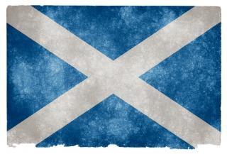Scotland grunge flag  document