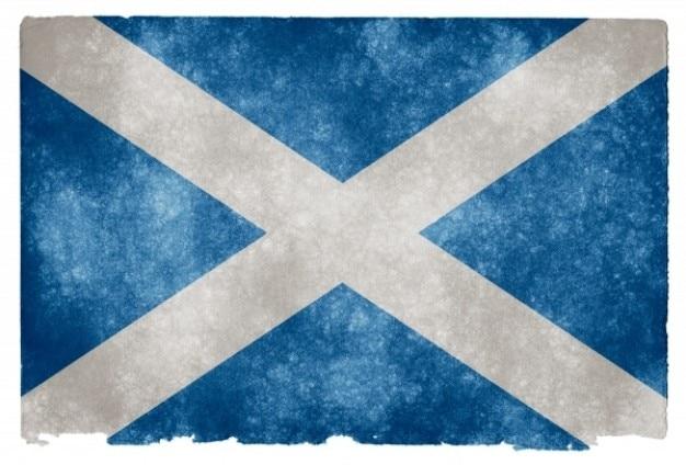 Scotland grunge flag