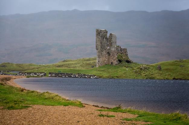 Шотландия дождливый день